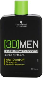 Schwarzkopf Professional [3D] MEN šampon proti lupům